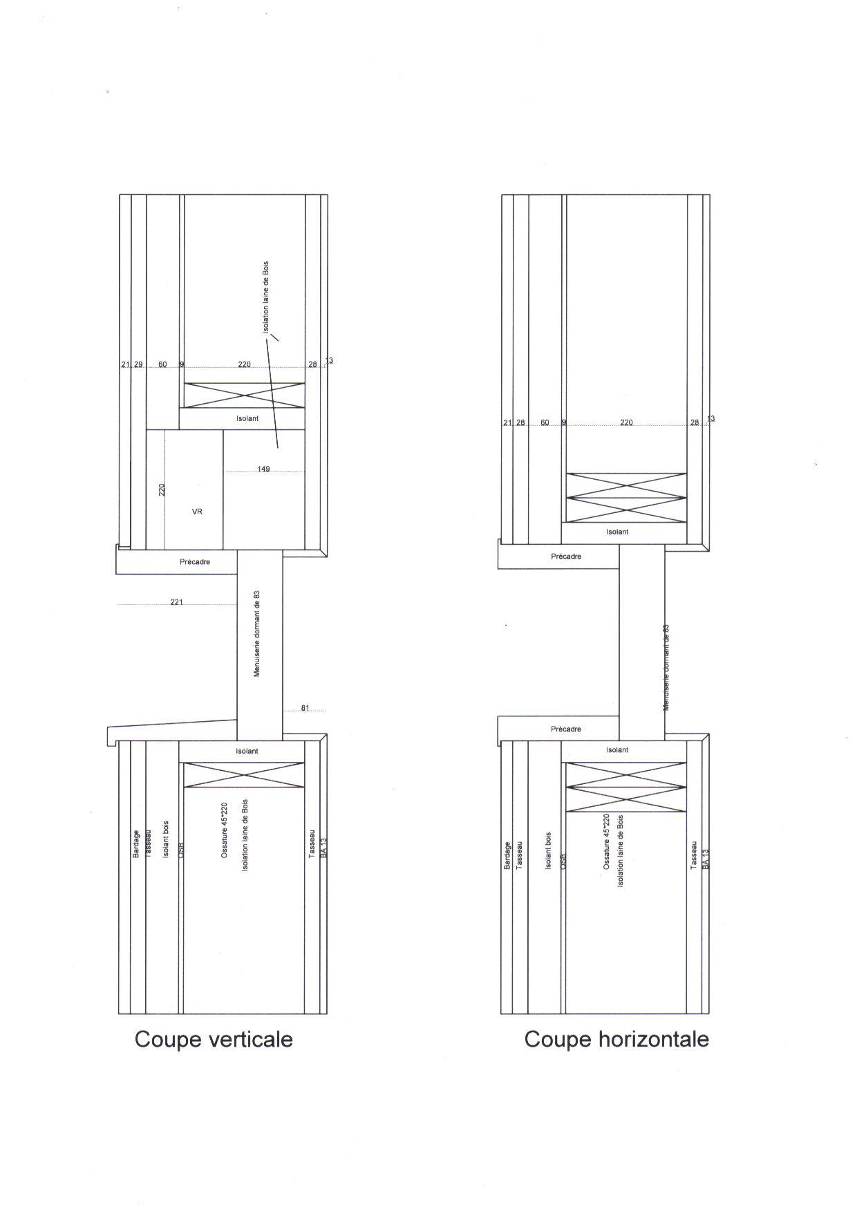 fenêtre ossature bois